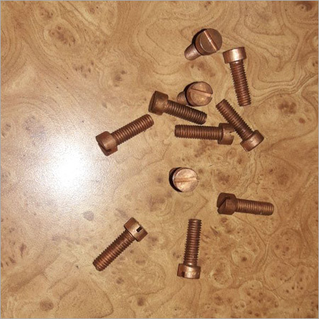 Copper Cheese Head Screws