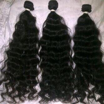 REMY KINKY CURLY DOUBLE DRAWN HAIR