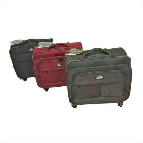 Canvas Luggage Trolley Bag Set