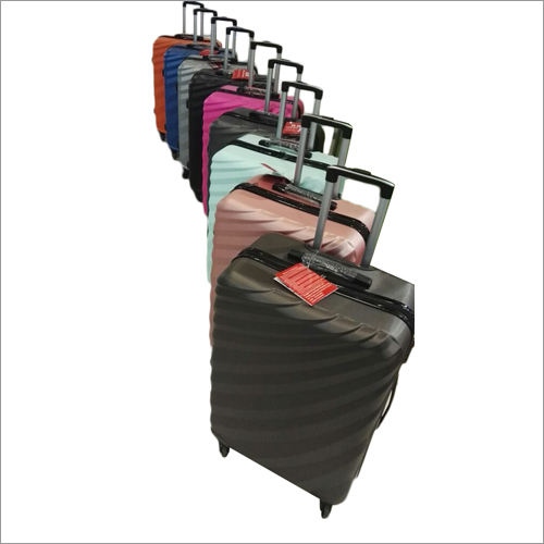 Plastic Luggage Trolley Bag Set