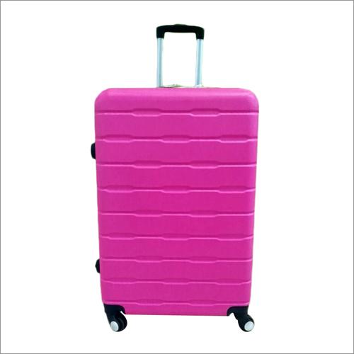 Color Plastic Luggage Trolley Bag Set