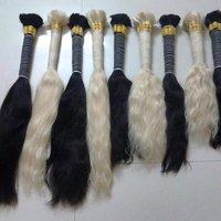 BULK STRAIGHT BLONDE HAIR