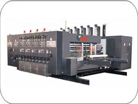 Chain Feed Single Col Flexo Printer Rotary Die Cutter Machine
