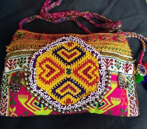 Banjara bead Cluch sling Bag
