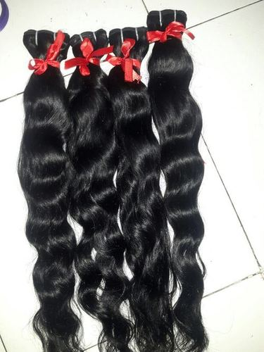WAVY REMY WEFT HAIR