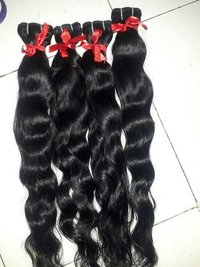 WAVY REMY WEFT HAIR