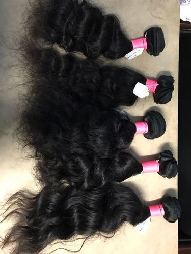 CURLY REMY WEFT HAIR