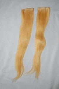BLONDE REMY WEFT HAIR