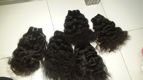 NATUAL WAVY REMY WEFT HAIR