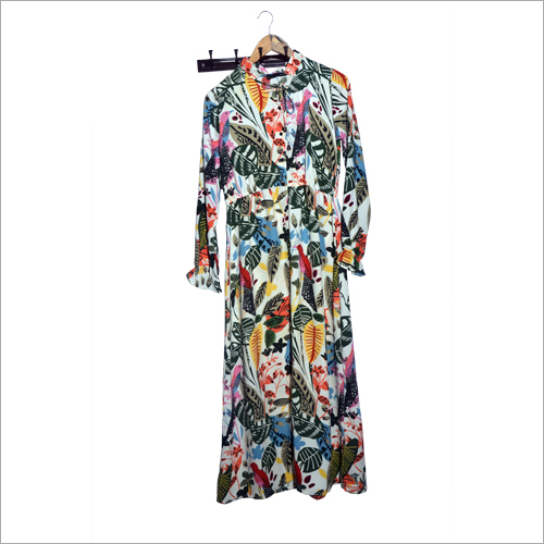 Ladies Floral Long Kurti