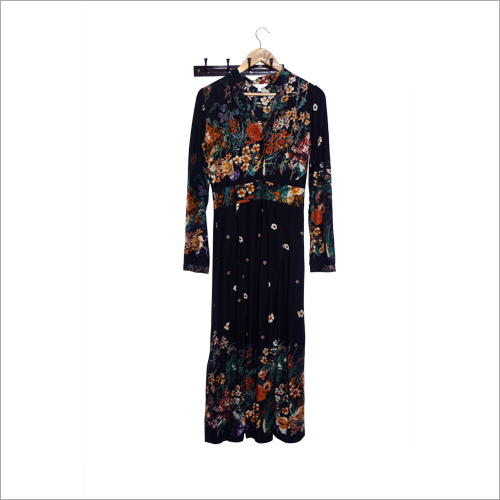 Ladies Printed Long Kurti