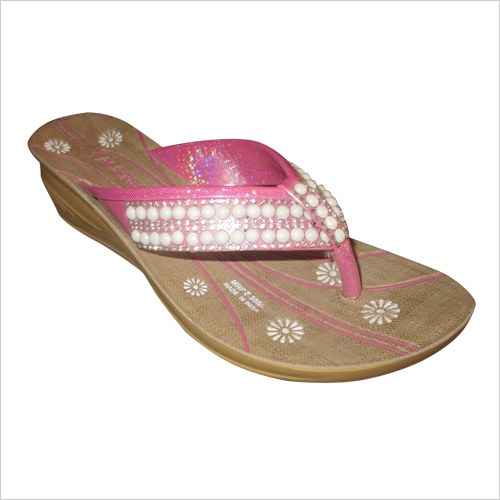 Ladies Fancy Pu Sliper