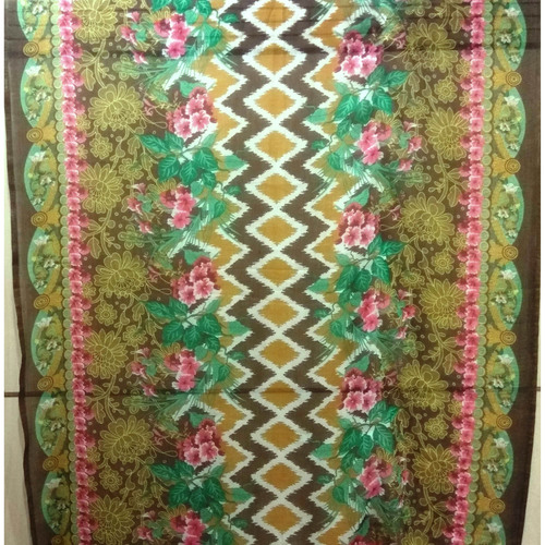 Multi colour printed chiffon scarves