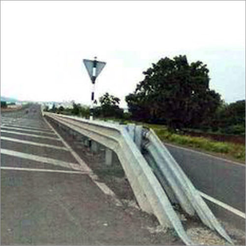 Thrie Beam Double Sided Crash Barrier