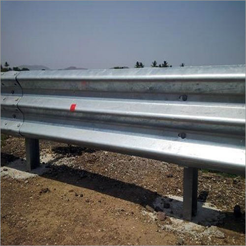 Single Side Single Thrie Beam Crash Barrier Aliaba