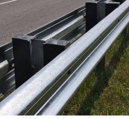 Double Sided Single W Beam Guardrail