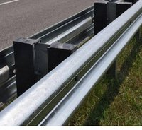 Double Sided Single W Beam Guardrail