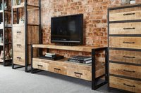 Industrial Mango Large Plasma TV Unit