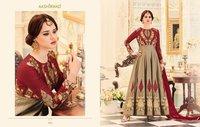 Heavy Bridal Designer Gown