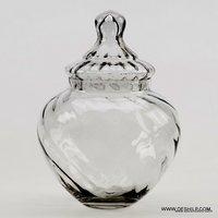 GLASS JAR & CANISTERS,JAM JAR,SILVER JAR,PICKLE JAR,RECYCLED GLASS JAR,UNIQUE GLASS JAR