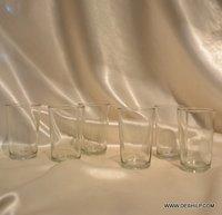Dinnerware Tumblers Clear Glasses Glass Tumbler