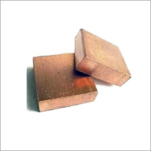 Copper Tungsten Square Shape Block
