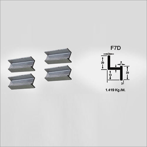 Mild steel window section Table F7D