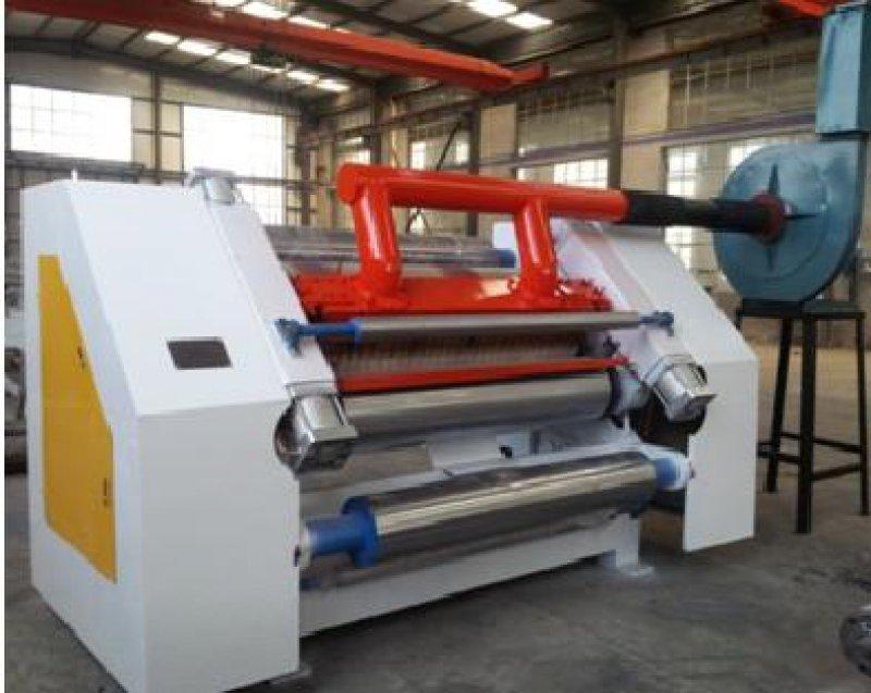 High Speed Single Facer Corrugation Machine
