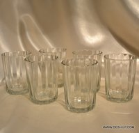 Glasses Glassware & Drinkware Dots Tumblers Carley Clear Glasses Lorenzo