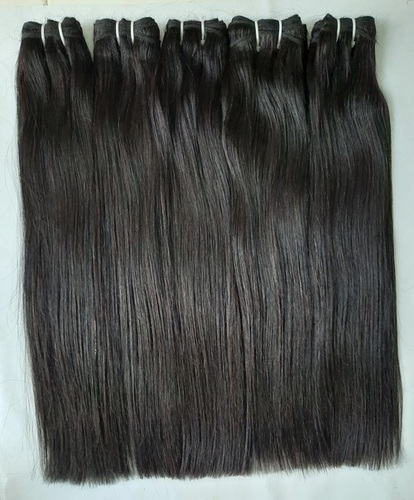 Natural Straight Tangle And Shedding Free Hair