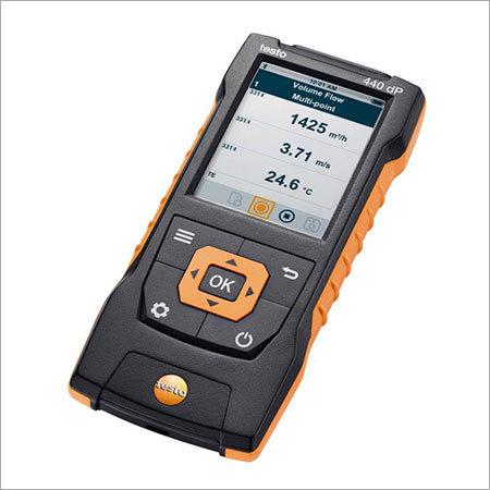 Testo 440 Air Velocity & IAQ measuring instrument