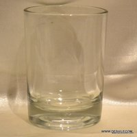 Clear Glasses Lorenzo Double Old Fashioned Crystal Glasses