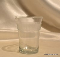 Non-Lead Crystal-Clear Glass,High Ball Tumbler Pyramid Mambo Glass Tumbler Set Juice Glass