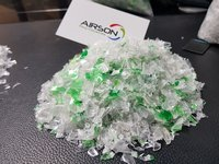 GREEN MIX RECYCLED FLAKES