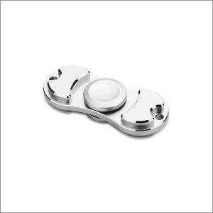 Torqbar 2 Way Metal Spinner Silver Colour