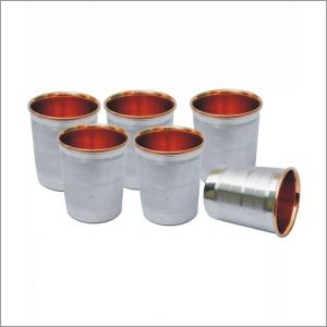 Divine Copper Pure Copper Steel Glass Set