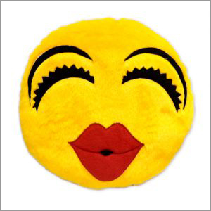 Lehar Smiley Cushion