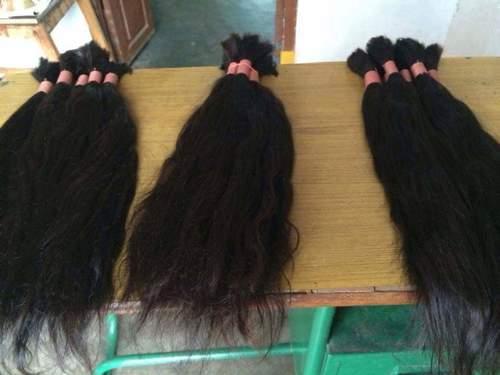 RAW UNPROCESSED HUMAN HAIR