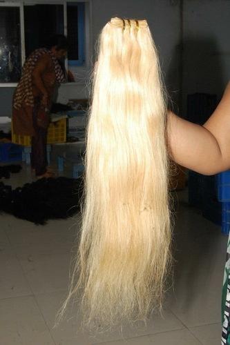 RAW BLONDE HUMAN HAIR
