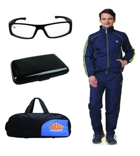 Mens Track suit & Duffle bag Combo