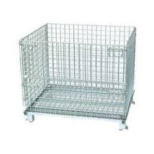 CAGE PALLET WITH WHEELS