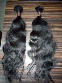 RAW BULK WAVY HUMAN HAIR