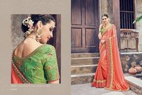 Traditional Touch Designer Saree Shopping