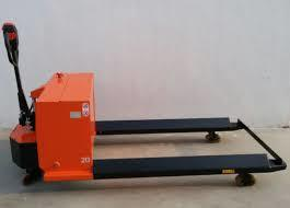 BATTER OPERATED REEL PALLET TRUCK