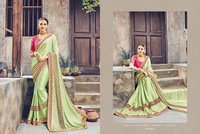Elegent Fancy Silk Saree