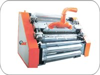 Oblique Type Paper Corrugating Machine