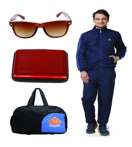 Mens Track suit & Duffle bag Combo