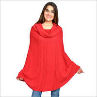 Ladies Round Poncho