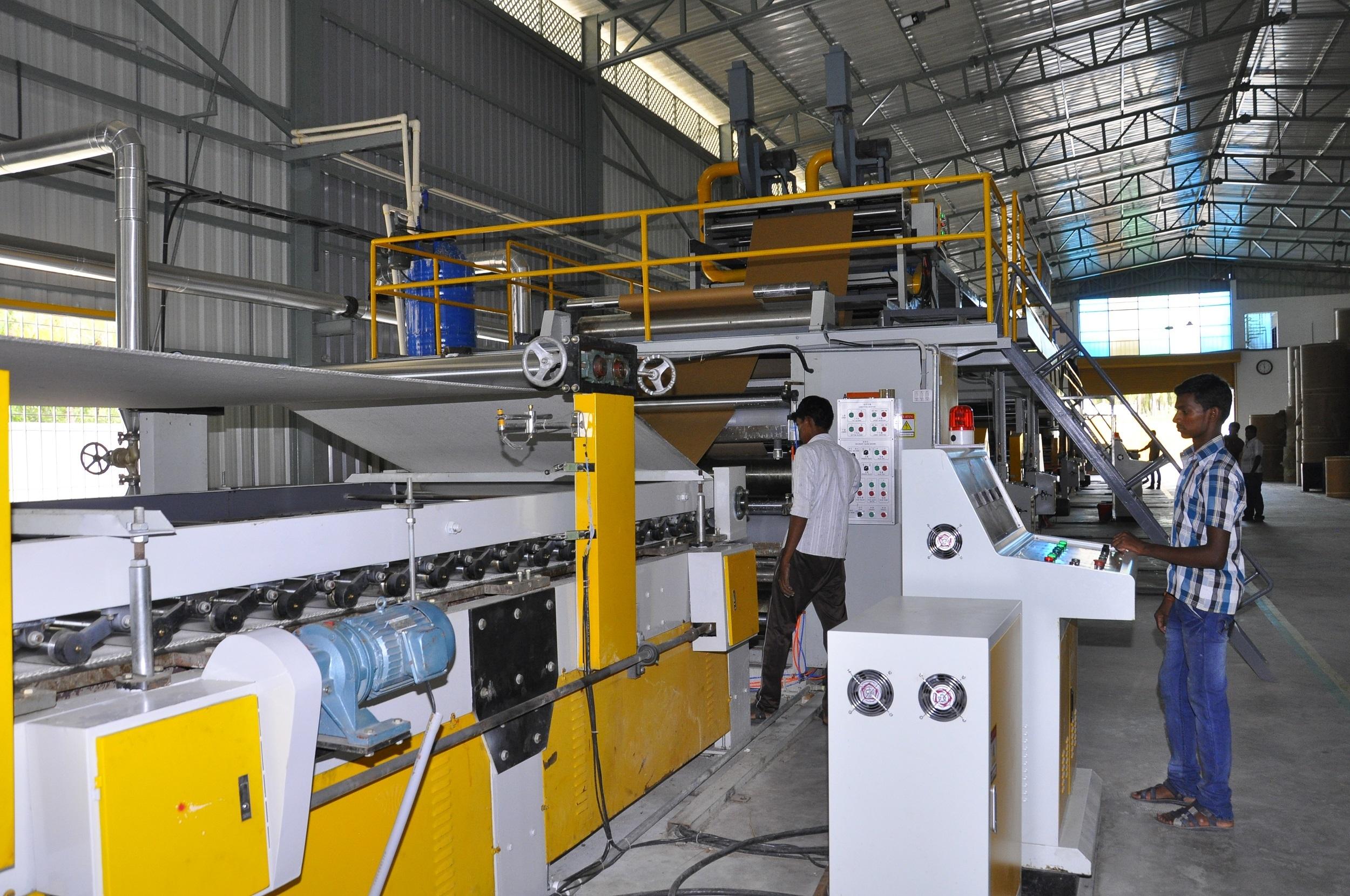 Automatic Corrugated Box Making Machine