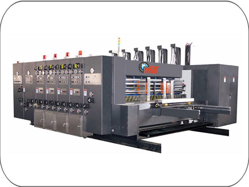 Chain Feed Flexo Board Printing Machine